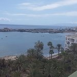 View of Los Cristianos beach from the 8th floor