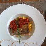 Nausicaa dos de cabillaud avec tagliatelles sauce napolitaine