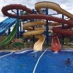 Parque acuatico del hotel