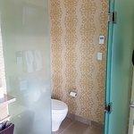 Enclosed toilet