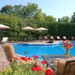 Heated Swimming Pool in season (indoor pool year-round)