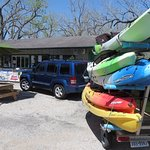 Kayak drop-off and pick-up services available