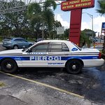 You can't miss the Pierogi patrol car