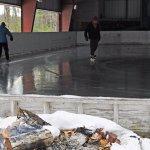 Ice Skating at the Tohko Dome Ice Skating Rink