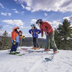 Family-friendly skiing and snowboarding at King Pine Ski Area