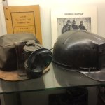 Miners' hats.