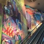 Great artwork on the way to your theater