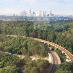 View of Atlanta from JW Marriott top floor
