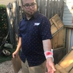 Dan needed medical attention, interactive