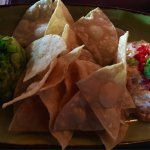 JFAT's Dueling Southern Dips (Pimento Cheese, Roasted Corn & Poblano Guacamole)=$12