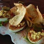 "JFAT's Nest of Jalapeño ""Bedeviled"" Farm Fresh Hen🥚's, (w/Applewood Smoked🥓)=$10"
