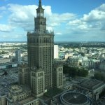 Palace of Culture and Science -- View from the room