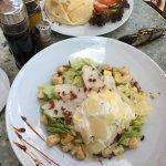 Caesar salad and omlette?