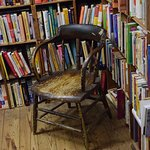 Old chair for reading