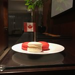 Canada Day Macarons