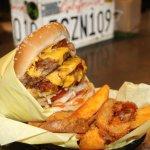 The double bacon cheeseburger