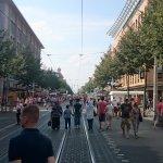 paseando a la Paradeplatz.