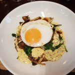 Bubble & Squeak, Fried Duck Egg, Grain Mustard