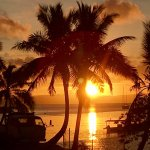 This is Sunset from the Savusavu Wok.   Priceless!