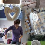 Come and join us for a creative workshop and learn a new skill, felting or stone carving are pop
