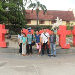 in front of FORT ROTTERDAM