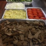 The catering portion of our business is really growing. Ask to see our catering menu & then let