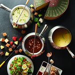choose your fondue style, 1, 2, 3, and all 4 courses