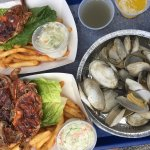 Steamers & soft shell crabs...Outstanding!