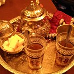 Moroccan Welcome Tea!
