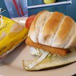 Fish sandwich - good