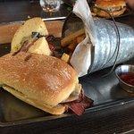 The cuban sandwich. Good but REALLY salty.