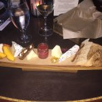 Cheese tray appetizer