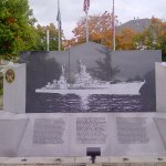 USS Indianapolis Monument