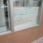 Specials -window display