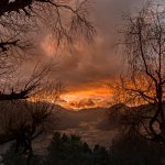 Mesmerizing Phobjikha valley during sunset