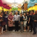 With Chef Ismail @ Restoran Rebung