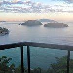 Vista do quarto superior com vista mar