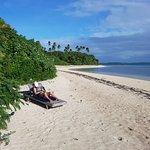 Our crowded Fafa island beach