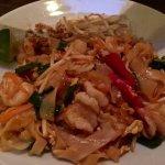 Delicious seafood noodles