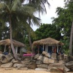 Fan only beach front bungalows