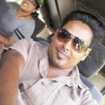 At the jeep at Wilpattu Park
