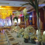 Wedding setup at Avenue Convention Plaza