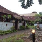 The Balinese villa