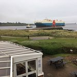 Great location for ship watching and days on the beach