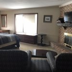 King Suite with Fire place