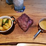 Moose steak