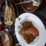 Beautiful food at Aguadulce