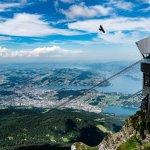 Gondola landing at top