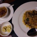 Delicious Mutton Biryani and Haleem