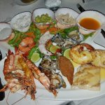 Mixed seafood